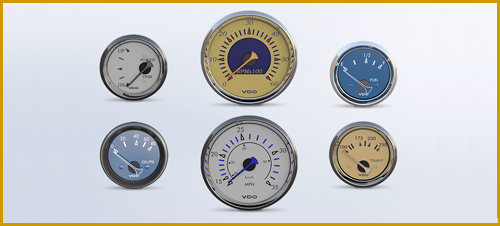 Allentare Marine Gauges from VDO