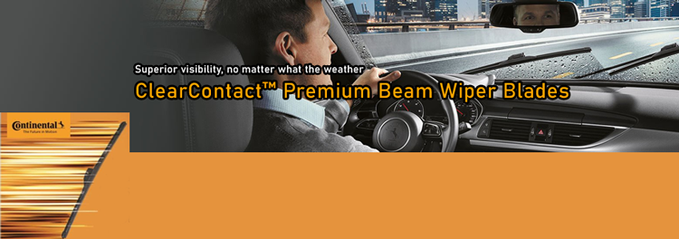 ClearContact Premium Beam Wiper Blades - Continental