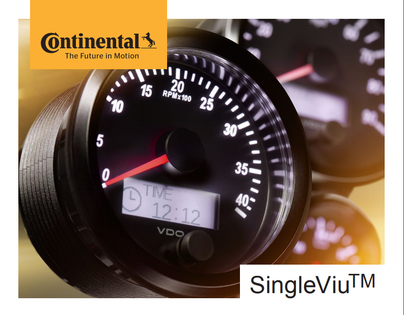 Continental VDO SingleViu Gauges
