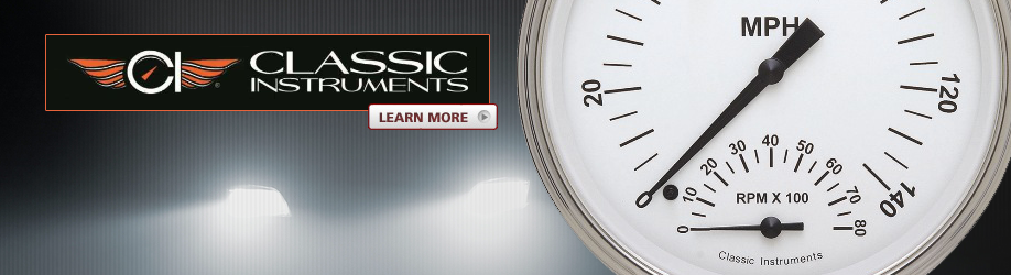 Classic Instruments works hard to remain the top choice for automotive gauges of knowledgeable automotive professionals and performance enthusiasts.