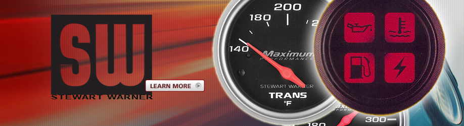 Since 1905, STEWART WARNER has been the brand name for automotive gauges and instruments you can count on
