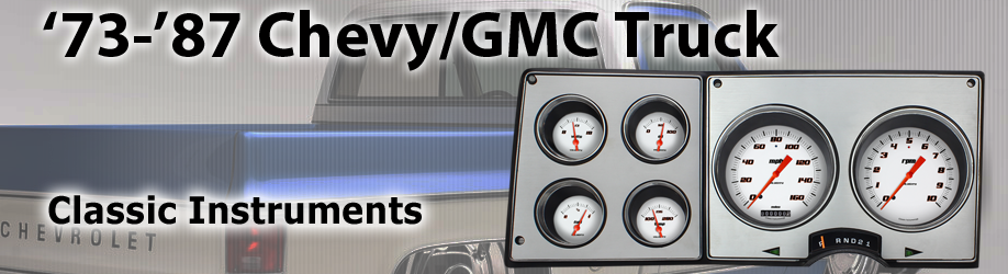 Classic Instruments releases the '73 - '87 Chevy/GMC Truck Package!