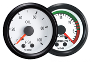 VDO Cockpit White  automotive gauges