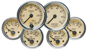 VDO Heritage Chrome automotive gauges