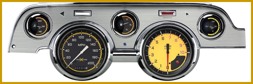 1967- 68 Mustang AutoCross™ Package: Classic Instruments